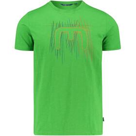 Meru Leeston Miehet Lyhythihainen paita , vihreä
